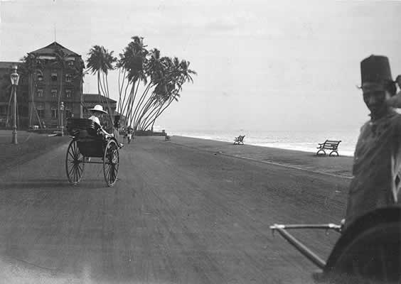 Lilah in Colombo before catching the S.S.Malwa to England