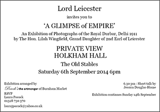 Invitation (Holkham)
